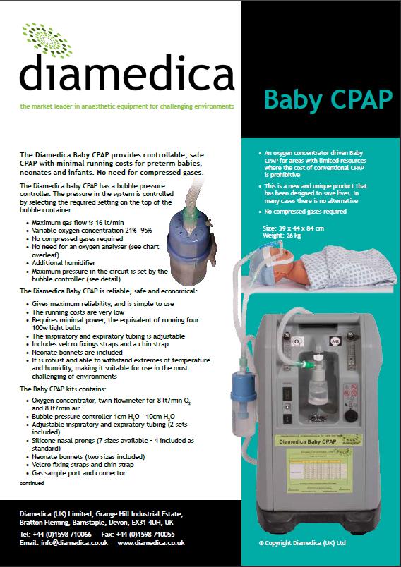 Diamedica - Baby CPAP
