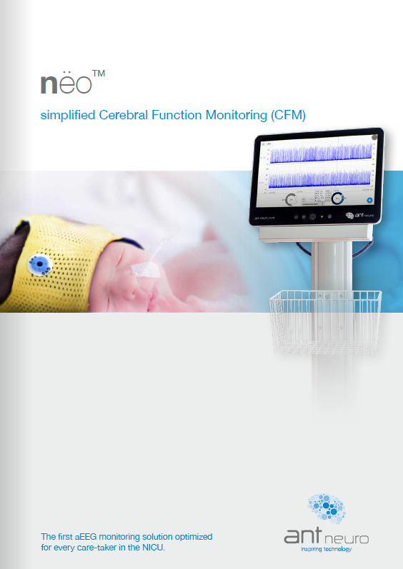 Neo - Simplified Cerebral Function Monitoring (CFM)