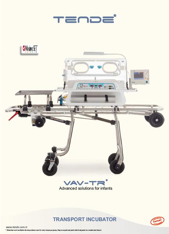 Tende - VAV-TR Transport Incubator